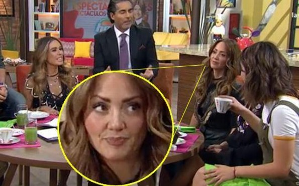 Andrea Legarreta regresó a Hoy ¡pero no olvida desprecio de Galilea! (FOTOS+VIDEO)
