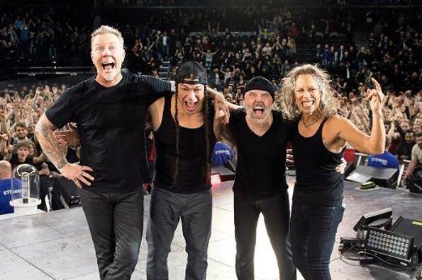 Metallica busca a bandas mexicanas para abrir sus conciertos en el Foro Sol (FOTO)