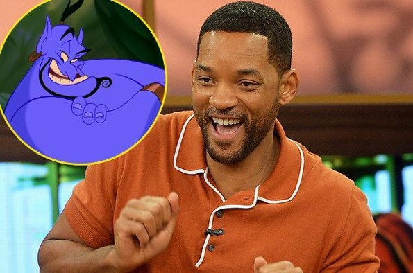 ¡Wow! Will Smith podría ser el Genio en el live-action de