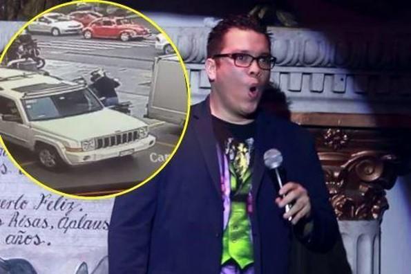 Asaltan a Franco Escamilla ¡a punta de pistola! (+VIDEO)