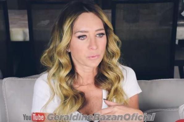 Geraldine Bazán rompe en llanto al hablar de su divorcio con Gabriel Soto (+VIDEO)