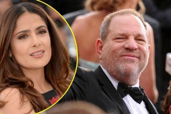 Harvey Weinstein pide perdón a Salma Hayek por amenazarla (+FOTOS)