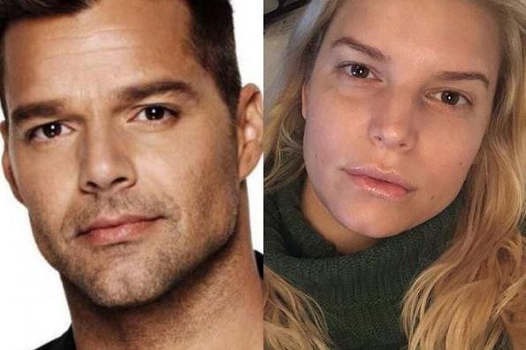 Jessica Simpson es la hermana gemela de Ricky Martin (+FOTO)