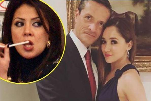 Esposa de Francisco Zea le manda mensaje a Sherlyn y el periodista responde (+FOTO)