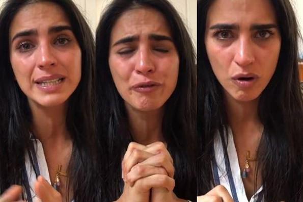 Entre lágrimas, Bárbara de Regil pide ayuda urgente para su papá (+VIDEO)