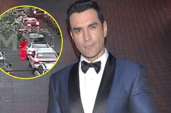Asaltan a David Zepeda, persigue al agresor ¡y lo enfrenta! (+VIDEO)