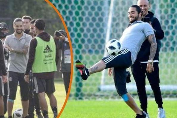 Maluma visita a la Selección Mexicana en Rusia (+VIDEO)