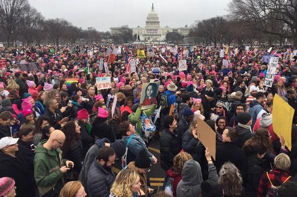 Celebridades marchan contra Donald Trump ¡en la #WomensMarch! (VIDEO+FOTOS)