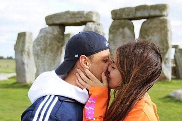 "Javier ""Chicharito"" Hernández y Sarah Kohan confirman romance (+FOTOS)"