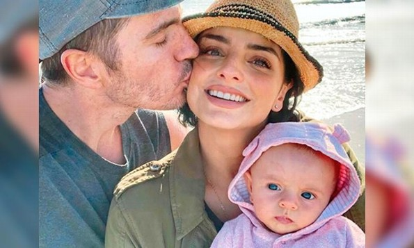 Aislinn Derbez revela por qué su hija nació rubia (+FOTO)