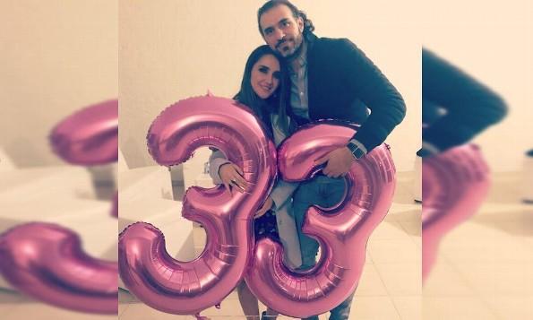 Así celebró Dulce María su cumpleaños 33 (+VIDEO)