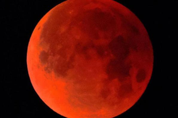 ¡A esta hora podrás ver el eclipse de luna en México!