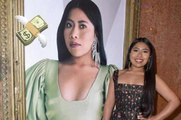 Yalitza Aparicio habla de su vacía cuenta bancaria