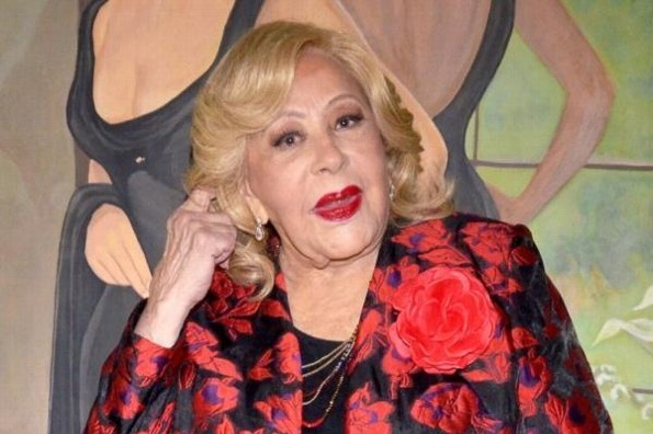 Silvia Pinal está cansada de las peleas infantiles de sus nietas