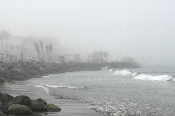 Veracruz se encuentra atrapado bajo intensa neblina #VIDEO