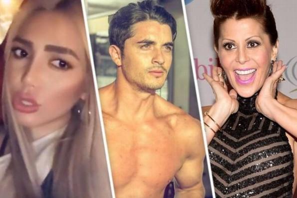 Acusan al ex novio de Frida Sofía de usar a Alejandra Guzmán #FOTO