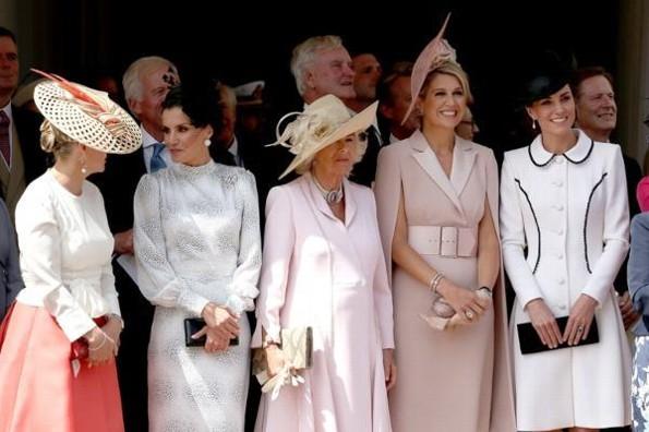 Letizia, Máxima de Holanda y Kate Middleton roban miradas con su outfit #FOTO