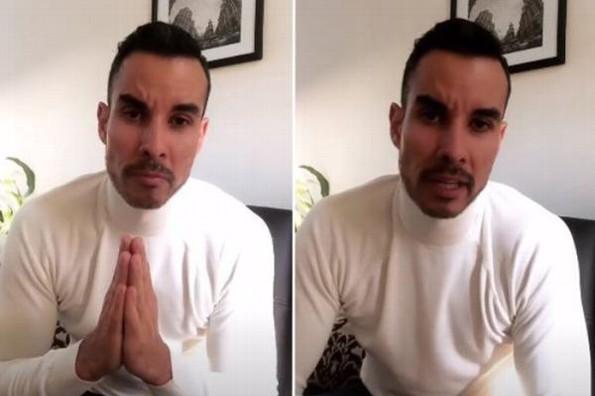 Alejandro Sandí reaparece tras su secuestro #VIDEO