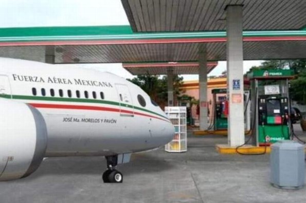 Internautas toman con humor la rifa del avión presidencial #FOTOS