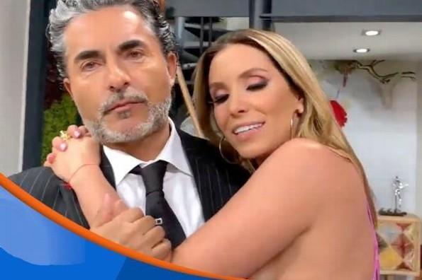 ¡Raúl Araiza y Andrea Escalona se besan! #VIDEO