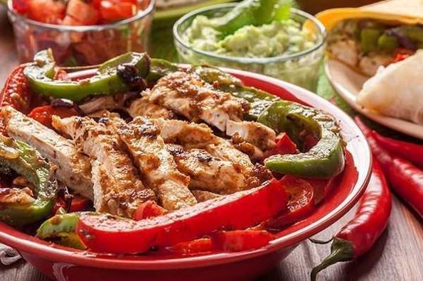 Receta de hoy: Fajitas de pollo