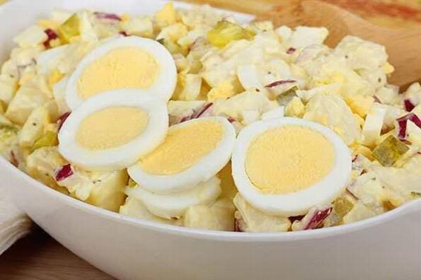 Receta de hoy: Ensalada de papa y huevo