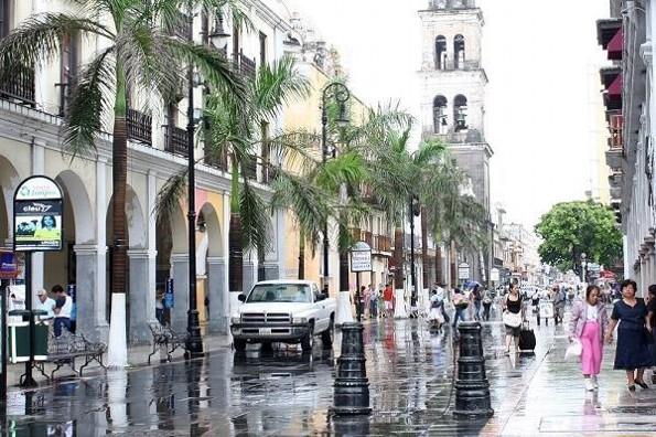 Pronostican fin de semana lluvioso en Veracruz