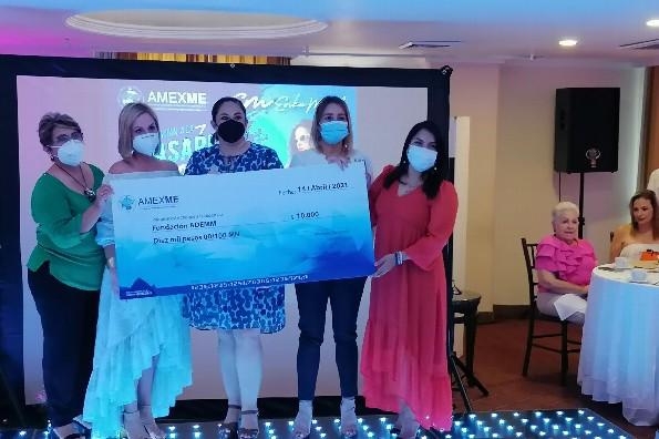 Mujeres empresarias realizan exitosa pasarela en favor de niños con discapacidad auditiva
