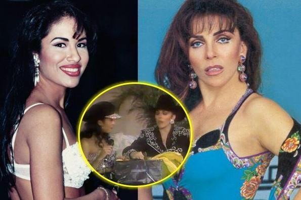 Recuerdan en redes el encuentro de Selena con Verónica Castro. Mira el regalo que le dio