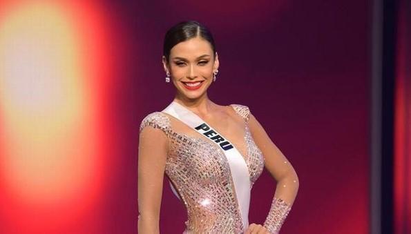 Miss Perú rompe en llanto por no ganar