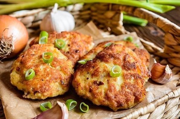 Receta de hoy: Tortitas de pollo