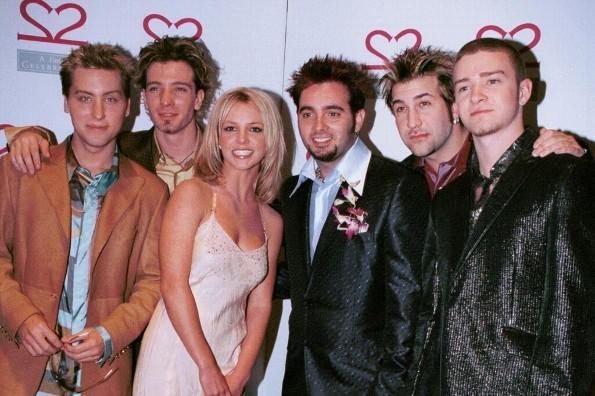 Britney Spears y los NSYNC  en los MTV DE 1999