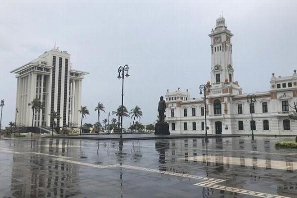 Hoy jueves lluvia y calor en Veracruz/Boca del Río