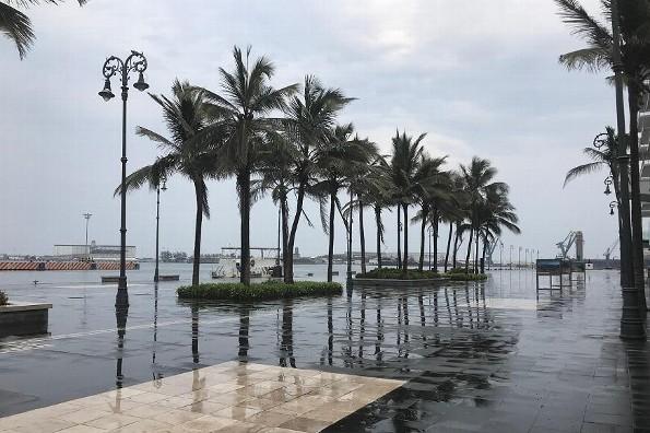 Hoy viernes día cálido en Veracruz; viene un temporal lluvioso
