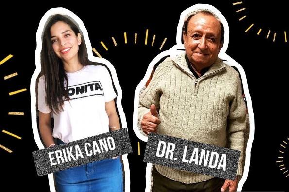 Dr. Landa y Erika Cano mejor que los hombres de negro