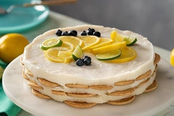Receta de hoy: Carlota de limón sin azúcar