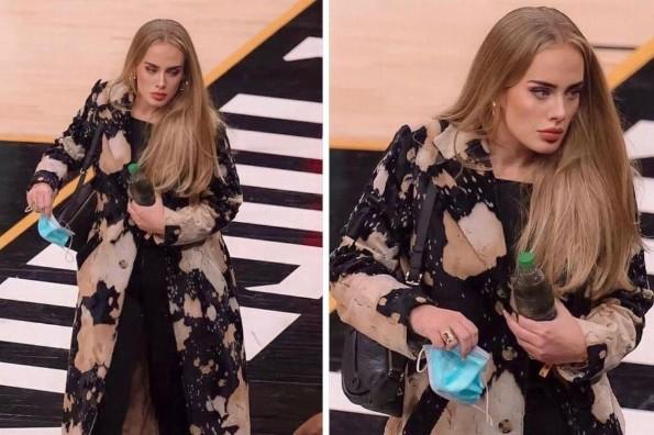 Adele reaparece en público y se ve espectacular (fotos)